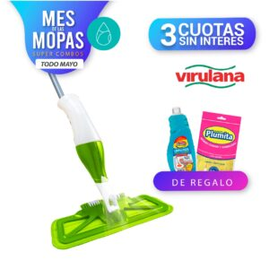 Spray Mopy Plus+Plegable + Regalos