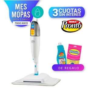Magic Mop 2 En 1 + 2 Limpia Pisos De Regalo+Guantes